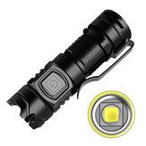 XANES FL13 SST40 LED 1000 lumens USB Rechargable 16340 Camping EDC Tactical Flashlight High Lumens Torch