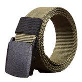120 cm KALOAD R01 Hombres Mujer Lona ajustable de lanzamiento rápido táctico Cinturón PE Hebilla 3.8 cm Ancho Cintura
