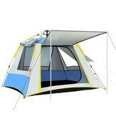 2-3 Personen Volautomatische Opzet Tent Met 3 Vensters UV Weerstand Grote Familie Camping Tent Regendicht Winddicht Outdoor Zonweringen