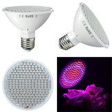 9W E27 200 LED Grow Light Full Spectrum Indoor Red + Blue Hydroponic Plants Veg Lamp