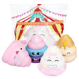 Purami Squishy Sweet Expressions Poo Jumbo 8CM Slow Rising Soft Toys With Packaging Gift Decor