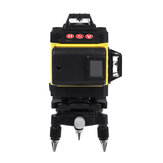 12/16 Line 4D Laser Level Green Light Digital Self Leveling 360° Rotary Measure with 6000mah Battery