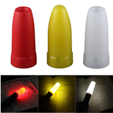 Convoy 24.5mm LED Flashlight White/Yellow/Red Diffuser Convoy S2 S3 S4 S5 S6 S7 S8 Flashlight Accessories