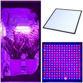 225 LED Grow Light Lámpara Panel ultrafino para hidroponía interior Planta Vege Flower AC85-265V
