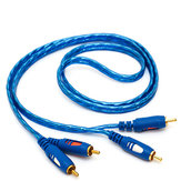AC02 Cable AV Dos pares de dos cables de audio RCA Línea de audio Cable Lotus