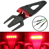 Fender LED Brake Stop Tail Light Universal Motorcycle Enduro Trail Dirt Pit Bike