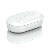 Портативный UV Sanitizer Коробка UV Sanitizer Беспроводное зарядное устройство Phone Cleaner Дезинфекция Коробка для телефона Щетка и аксессуаров