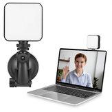 Bakeey W64 2000mAh Luce di riempimento regolabile in continuo Illuminazione per videoconferenza Telefono cellulare fotografica Luce per fotografia dal vivo del computer