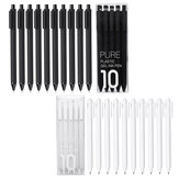10pc/set Kaco Pen 0.5mm Kaco Ballpoint pen Sign Pen Creative Ballpoint Pens Stationery Writing Supplies