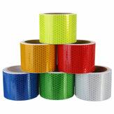 3m Long Safety Safety Taśma ostrzegawcza ostrzegawcza Taśma samoprzylepna 6 kolorów