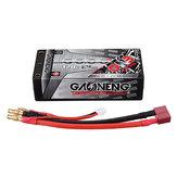 Gaoneng 7.6 v 6000 mah 120c 2S hv 4.35 v lipo Bateria T Plug para ax10 escorpião rc carro
