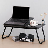 55*32cm Enlarge Foldable Adjustable with Cup Hole Density Board Computer Laptop Desk Table TV Bed Computer Mackbook Desktop Holder