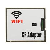 WIFI Transferência TF Cartão CF Micro SD Transferência CF Card Adapter Cartão de Memória Sem Fio Arrastar