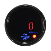2 polegadas 52mm 0-140 PSI Óleo indicador de pressão Digital LED Display