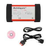 V2014.02 Multidiag Pro +車/トラック用OBD2 Multidiag Proインターフェーススキャナ