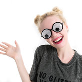 Funny Googly Eyes Goggles Shaking Eyes Party Очки и игрушки для партии Cosplay Costume Christmas Halloween Party Decoration