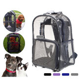 Cat Carrier Bolsa Cachorro Cat Transport Bolsa Oxford Fabric Mesh Easy Cleaning Cat Gaiola Mochila de saída Pet Carrier