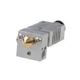 V6 4.1 mm a través del orificio de plata Todo el metal J-Head Hotend Control remoto Juego de extrusoras para impresora 3D