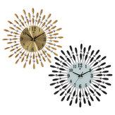 38 x 38 cm Pared Reloj Cuarzo silencioso colgante Batería Reloj alimentado Decoración del hogar
