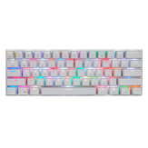 Motospeed CK62 Bluetooth USB-Kabel Dual-Mode-Outemu-Schalter RGB Mechanical Gaming Keyboard