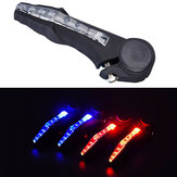 Bicycle Horns Light Mountain Bike Signal Turn Light Handlebar Warning Light
