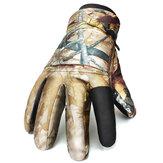 Mężczyźni Kobiety Ciepłe Taktyczne strzelanie Wodoodporne wiatroszczelne rękawice Full Finger Outdoor Ski Hunting Gloves