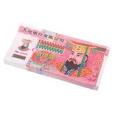 100 قطع سلف المال السماء الجحيم البنك تلاحظ الصينية جوس ورقة شبح الجنازات الفن