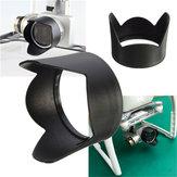 La lente de la cámara de la gorra de la sombrilla de la capucha del sol para el fantasma dji 3 profesional avanzó
