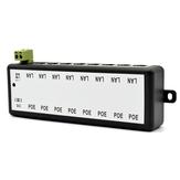 8 Channel CCTV POE sintetizador Combiner POE Módulo de Alimentação para Câmeras IP de Vigilância