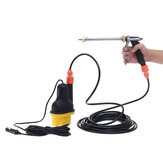 12V portátil de alta presión Power Electri Coche Wash Water Pump Cleaner pulverizador Kit