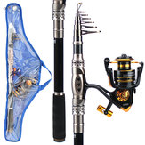 ZANLURE 2.7 m / 3.3 m 3000 Reel Carbon Telescopico TORCIA Rod Reel Combo Sea TORCIA Suit