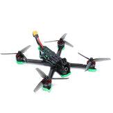 iFlight Nazgul5 V2 5 İnç 6S Analog LED Sürümü FPV Yarış Drone BNF Caddx Ratel Cam 800mW VTX SucceX-E F4 Uçuş Kontrol Cihazı 45A BLHeli_S ESC XING 2207 1800KV