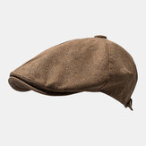 Outdoor Linen Thin Beret Caps Literary Forward Hat