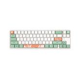 128 teclas Mint Toffee Keycap Set Cherry Profile PBT Five-sided Sublimation Keycaps para teclado mecânico