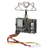 Eachine DTX03 DVR 5.8G 72CH 0/25mW/50mW/200mW Switchable VTX FPV Transmitter w/ Audio NTSC/PAL for RC Drone