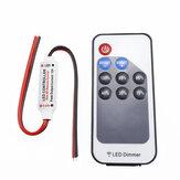 Dimmer 9 tasti DC5-24V LED Dimmer 9 RF Controllo wireless remoto per luce monocromatica