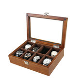 Bakeey Watch Box Wooden Watch Display Storage