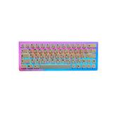129 Keys Charms Japanese Keycap Set Cherry الملف الشخصي PBT Sublmation Keycaps للوحة المفاتيح الميكانيكية