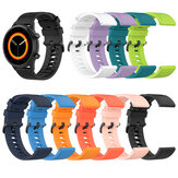 Bakeey 20 / 22mm Pure Color Sweatproof Soft Vervanging van siliconen horlogeband voor Garmin Vivowatch