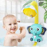 Электрический Слон Душ Инструмент Спрей Детская Ванночка Плавание Игрушки для Детей Ванная комната Водные Игры