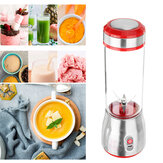 500 ml 6 Blade Mini Draagbare USB Elektrische Fruitpers Blending Machine Sap Maker Juice Shaker
