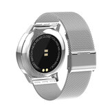 Replacement Stainless Steel Wristband Watch Band Strap for Newwear Q8 Smart Watch