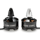 DXW D1806 1806 2280KV 2-3S Brushless Motor CW CCW For 200 210 220 250 RC Drone FPV Racing Multi Rotor
