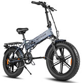 [US DIRETO] ENGWE EP-2 PRO 12,8Ah 750 W 20in Fat Pneu Bicicleta Elétrica Dobrável 45km / h Velocidade Máxima E Bicicleta para Mountain Snowfield Road
