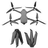 8743 Carbon Fiber 3-blade Propeller Props Dilipat Pengurangan Kebisingan untuk DJI Mavic 2 Pro / Zoom Drone