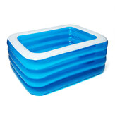 PVC 3/4 Layers Inflatable Swimming Pool Camping Garden Ground Pool