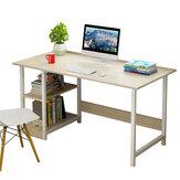 Skrivning Studiebord Computer Skrivebord PC Kontor Hjem Workstation Boghylde Træ