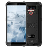 OUKITEL WP5 Global Version 5.5 inci IP68 Tahan Air 8000mAh Android 10 13MP Kamera Belakang Tiga 4GB 32GB MT6761 4G Rugged Smartphone