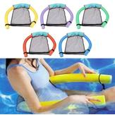 Zomer Water Drijvende Stoel Hangmat Zwembad Seat Bed Met Mesh Net Kickboard Lounge Stoelen Voor Kid Volwassen Zwemmen Speelspeelgoed