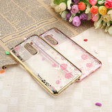 Bakeey Diamond Plating Clear Cover Soft TPU Flower Custodia protettiva per Xiaomi Pocophone F1
